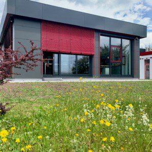 Außenanlage Büro Meiningen