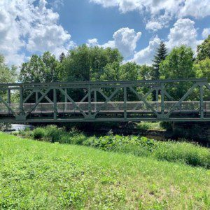 Radwegbrücke Schwarza