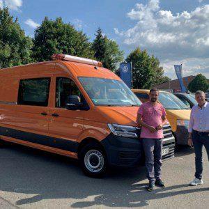 neuer VW Crafter Büro Meiningen