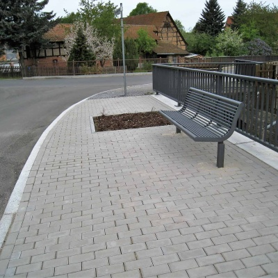 Ufermauer in Rippershausen OT Solz